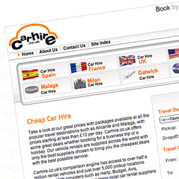 carhire.co.uk screen shot