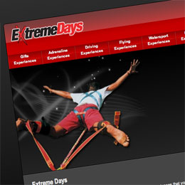 extremedays.com screen shot